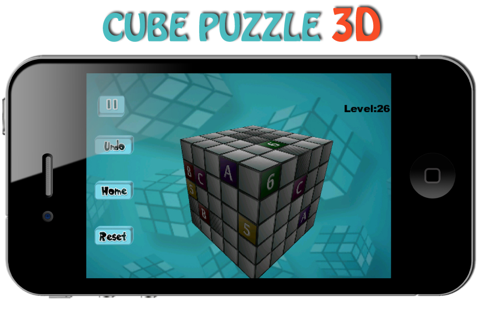 Screenshot Cube Puzzle 3D