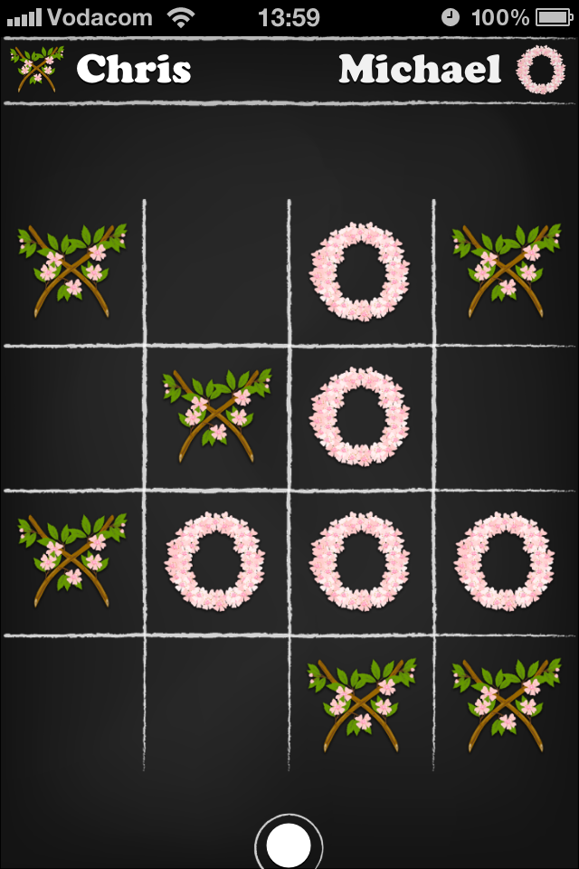 Screenshot Tic Tac Tap Toe
